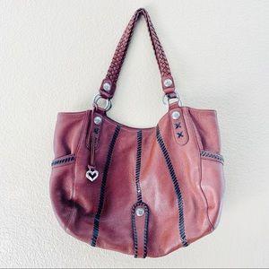 Brighton Pebbled Brown Mesa Bag